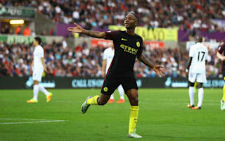 Sterling hails Guardiola's impact