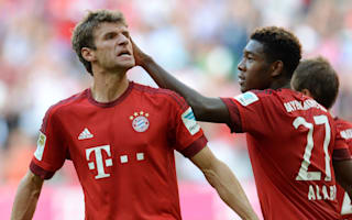 Bayern without Muller, Alaba and Lahm against Ingolstadt as Robben, Boateng return