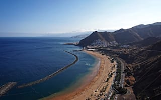 Plane crash lands on Tenerife beach: Sunbathers run for cover