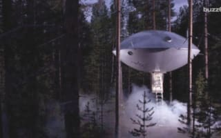 UFO in the woods: Sweden's luxury glamping offering