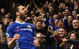Fabregas 'humbled and proud' after 300th Premier League game