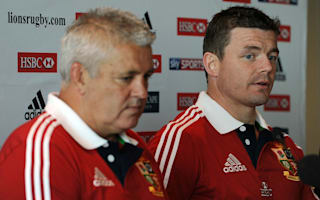 O'Driscoll backs Gatland for Lions role