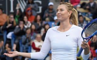 Shriver backs Sharapova for slam success