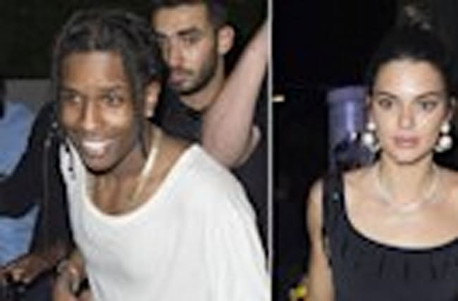 Kendall Jenner Supports ASAP Rocky in Cannes Kourtney Kardashian Packs on PDA With Younes Bendjima