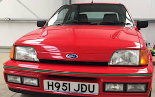 Immaculate 1990 Ford Fiesta RS Turbo goes under the hammer