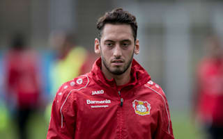 Calhanoglu waiting for 'final talks' as AC Milan move nears