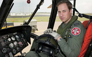 Prince William to train as air ambulance pilot