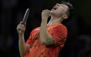 Rio 2016: Ma completes table tennis slam