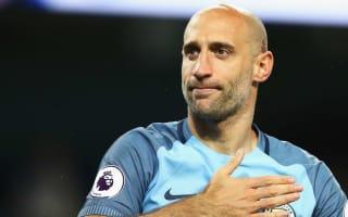 Zabaleta challenges West Ham to believe in winning trophies