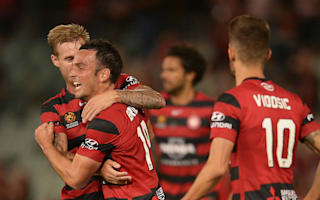 Western Sydney Wanderers 2 Newcastle Jets 0: Aguilar, Bridge extend hosts' lead