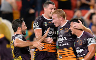 Broncos march on by thumping Rabbitohs