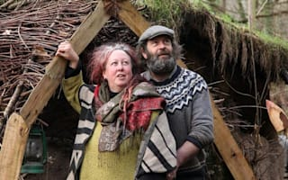 Couple face eviction from their Hobbit style mud hut