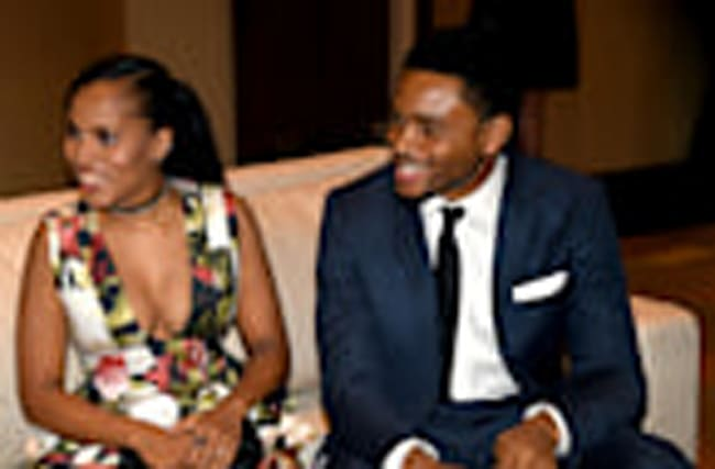 Kerry Washington Makes Rare Public Appearance With Husband Nnamdi Asomugha