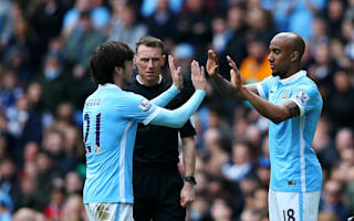 Delph thanks Silva for picking him up during Manchester City struggles