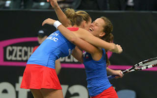 Strycova lauds Prague crowd after Fed Cup triumph