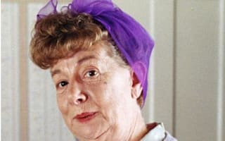 Hilda Ogden's famous curlers, headscarf and pinny to go under hammer