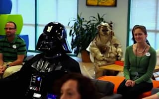 Video: Darth Vader sits in on Disney World 'brainstorm'