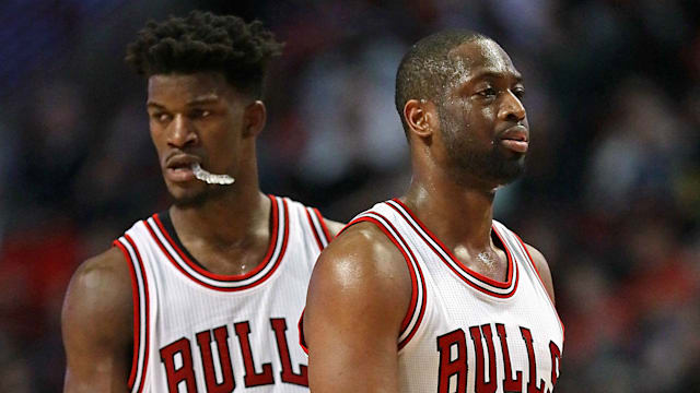 Bulls early surprise of playoffs after taking 2 at Boston