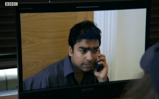 That moment when someone on The Apprentice final says more people order over the phone than online nowadays