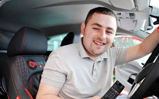Man wins one-off SEAT with massive stereo and TV
