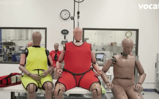 Crash test dummies are getting fatter