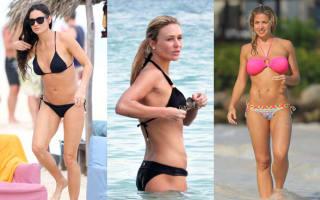 Photos: Celebrities on holiday 2014