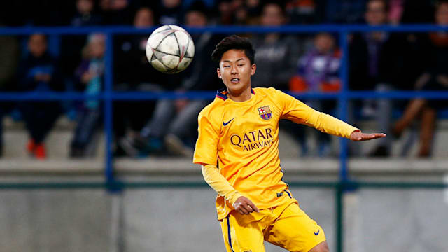 Borussia Dortmund Move For Barcelona Wonderkid Lee Seung-Woo