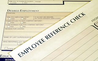 What are your rights when it comes to a job reference?