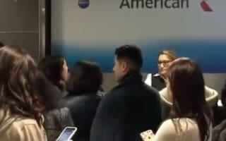 Furious American Airlines passenger has meltdown after 12-hour delay