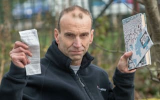 Shock £60 litter fine after man drops his bookmark