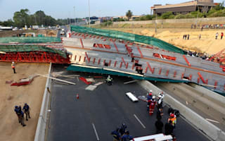 South Africa bridge collapse: Two dead in Johannesburg