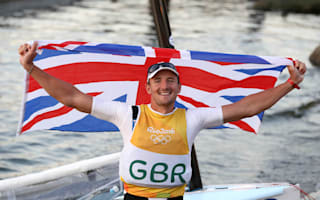 Giles Scott's gold continues Britain's domination of Finn class