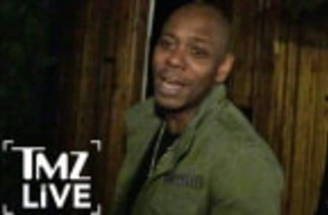 DAVE CHAPPELLE'S DONALD TRUMP Impression (TMZ Live)