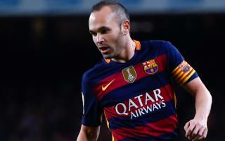 Iniesta hails 'astonishing' unbeaten run