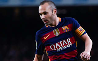Iniesta hails 'astonishing' unbeaten run