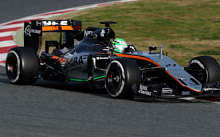 Hulkenberg quickest on day three in Barcelona