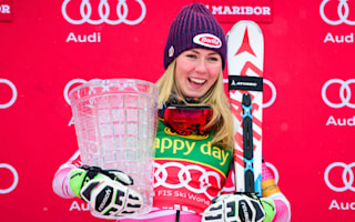 Broken gate fails to stop Shiffrin, Kristoffersen dominates in Adelboden