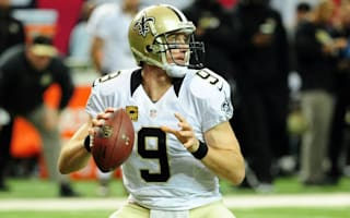 Move over Curry - Brees shows off his arm strength with incredible basket throw