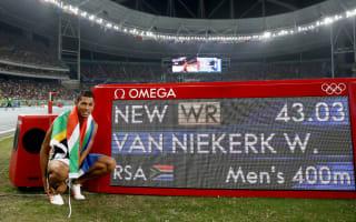 Van Niekerk joins Bolt and Farah on Athlete of the Year shortlist