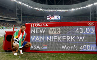 Van Niekerk joins Bolt and Farah on Athlete of the Year shortlist