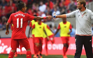 Klopp happy with Firmino in central role