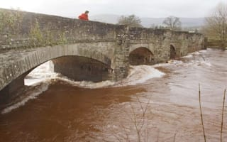 Rescue services search river for man missing in Brecon Beacons