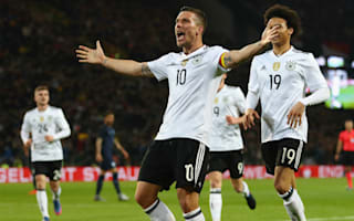 Germany 1 England 0: Podolski signs off in spectacular fashion