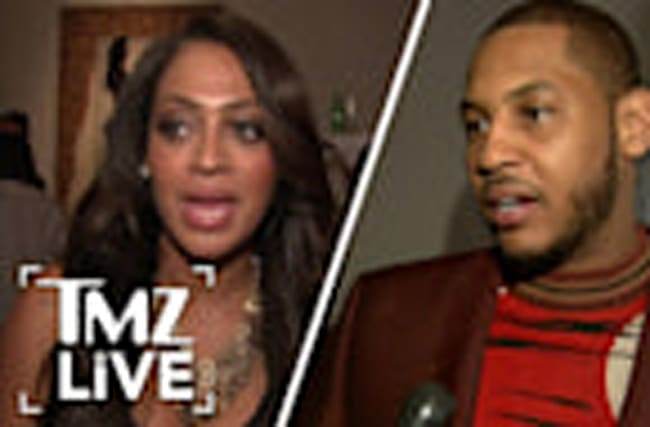 Carmelo & Lala Anthony: Peaceful Divorce I TMZ LIVE