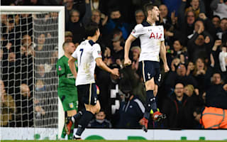 Tottenham 2 Aston Villa 0: Davies' first Spurs goal provides spark