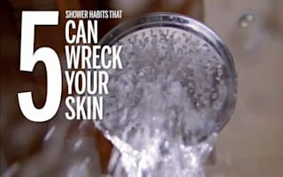 Five ways taking a shower can ruin your skin