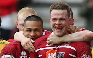 Late Burgess try earns Wigan dramatic draw