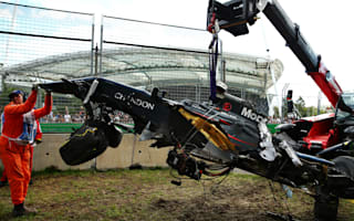 Alonso 'lucky' to walk away from frightening crash
