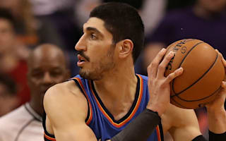 Thunder's Kanter lands in New York after being detained in Romania