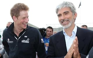 Prince Harry leads celebrity presence at British Grand Prix